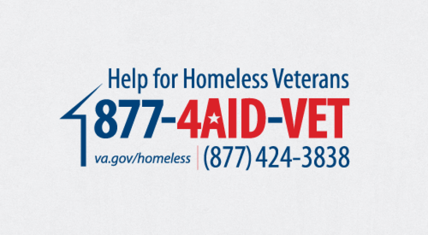 Help For Homeless Veterans at 877-4AID-VET