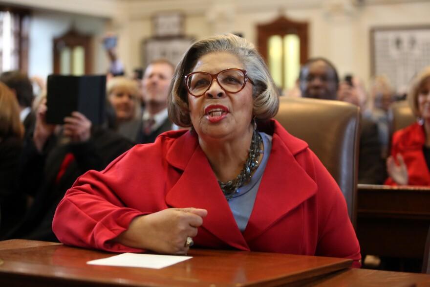 Houston Rep. Senfronia Thompson in the Texas House on Jan. 2015.