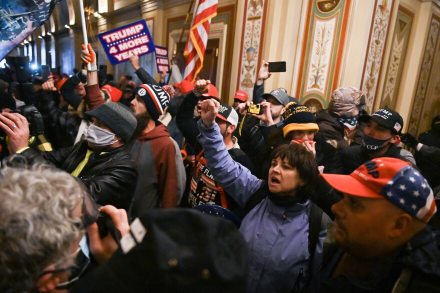 Extremists breached security and entered the Capitol as Congress debated the 2020 electoral vote tally.