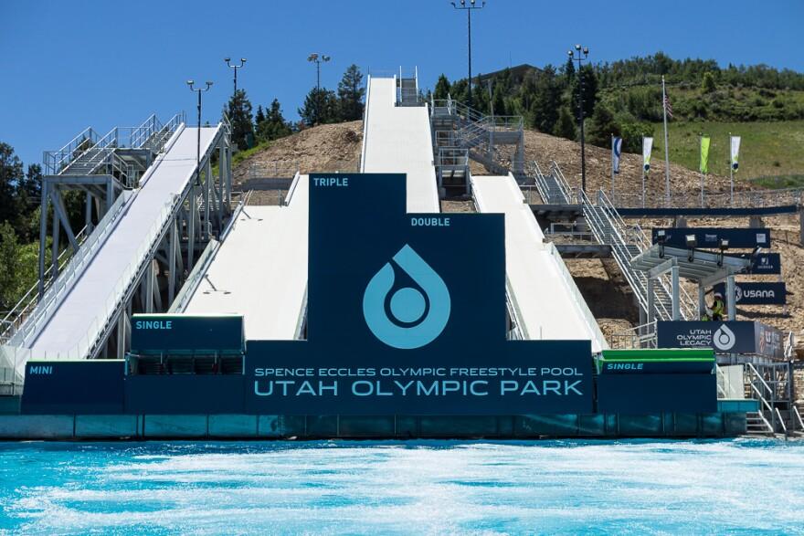 Photo of Utah Olympic Park.