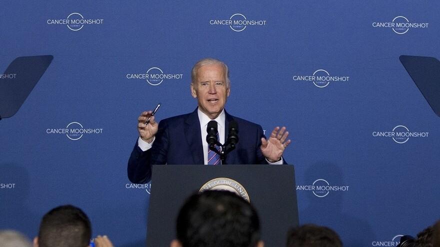 Vice President Joe Biden speaks at the Cancer Moonshot Summit at Howard University in Washington, D.C. on June 29, 2016.