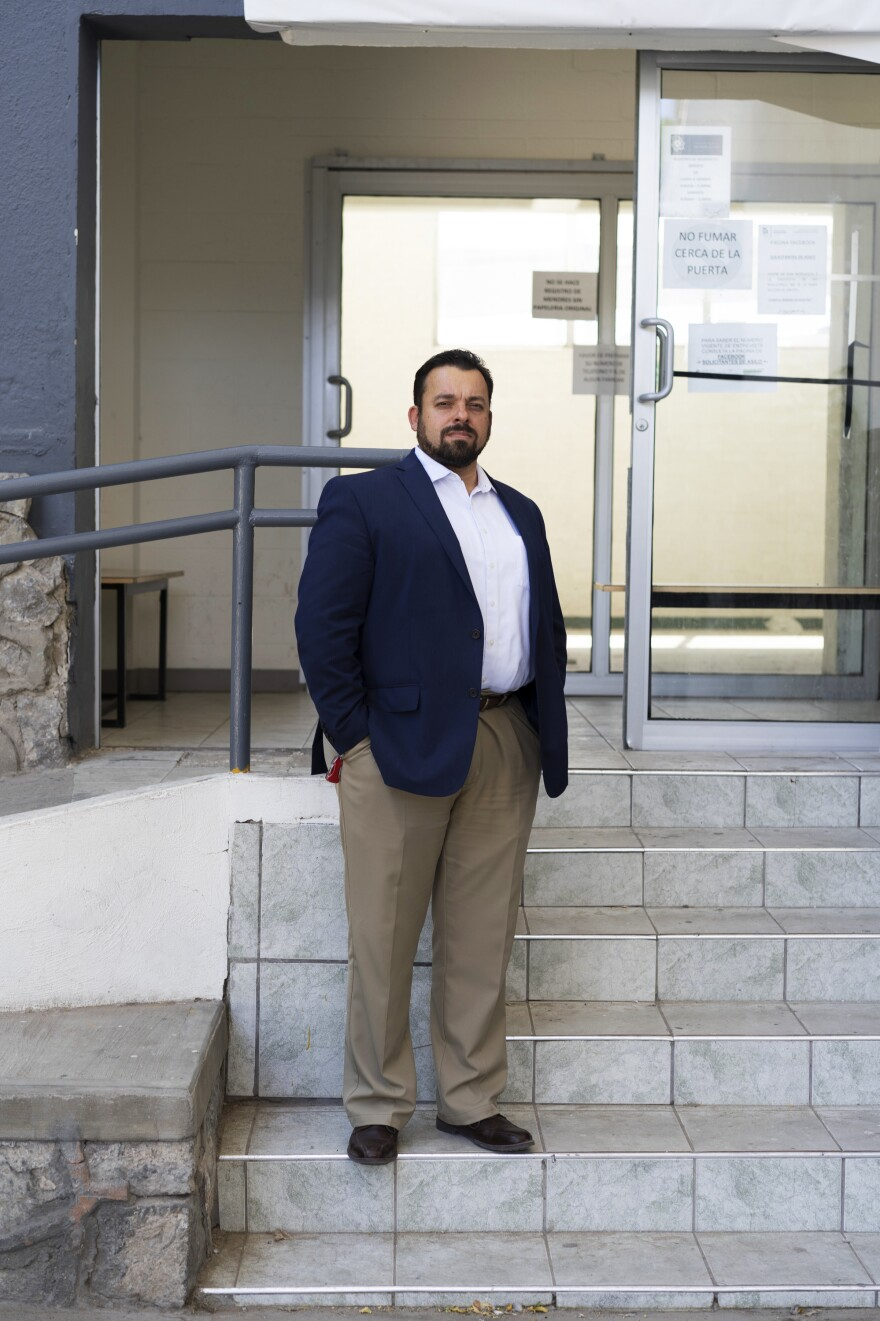 Enrique Valenzuela, a Mexican state immigration official, says Juárez is bracing for more migrants arriving from the south — and returning from the United States.