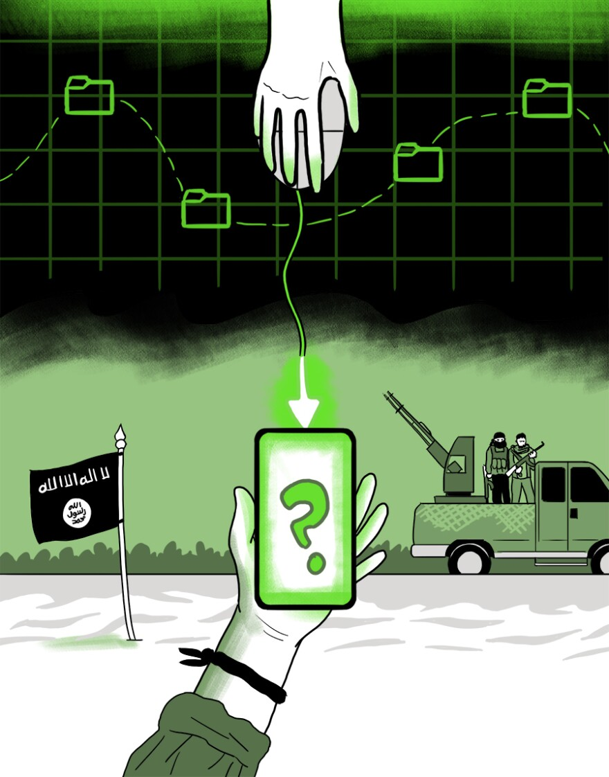 The second phase of Operation Glowing Symphony focused on sowing confusion within ISIS. Joint Task Force ARES operators worked to make the attack look like frustrating, daily-life IT problems: dead batteries, slow downloads, forgotten passwords.