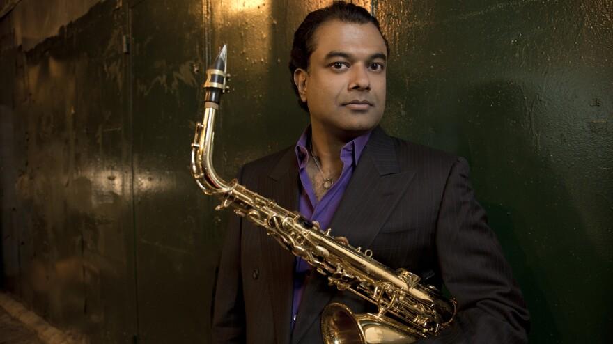 Rudresh Mahanthappa's latest album is <em>Gamak</em>.