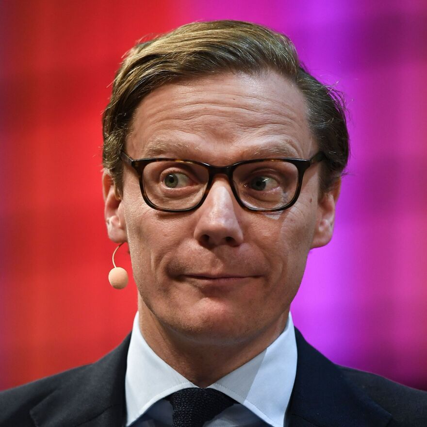 """Cambridge Analytica CEO Alexander Nix is heard on the secret recordings saying that one strategy for compromising opponents is to """"send some girls around to the candidate's house."""""""