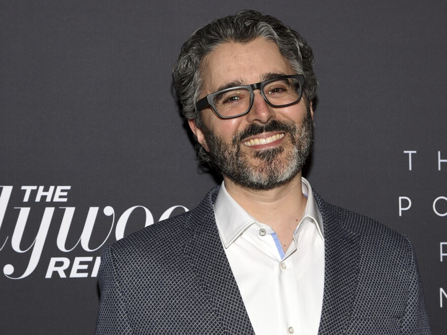 "Michael Barbaro, host of the ""The Daily"" podcast for ""The New York Times,"" shown in 2019 at the ""Most Powerful People in Media"" reception staged by ""The Hollywood Reporter."""