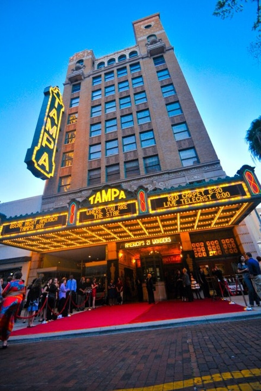 The Tampa Theatre will have its interior and exterior repaired and renovated.