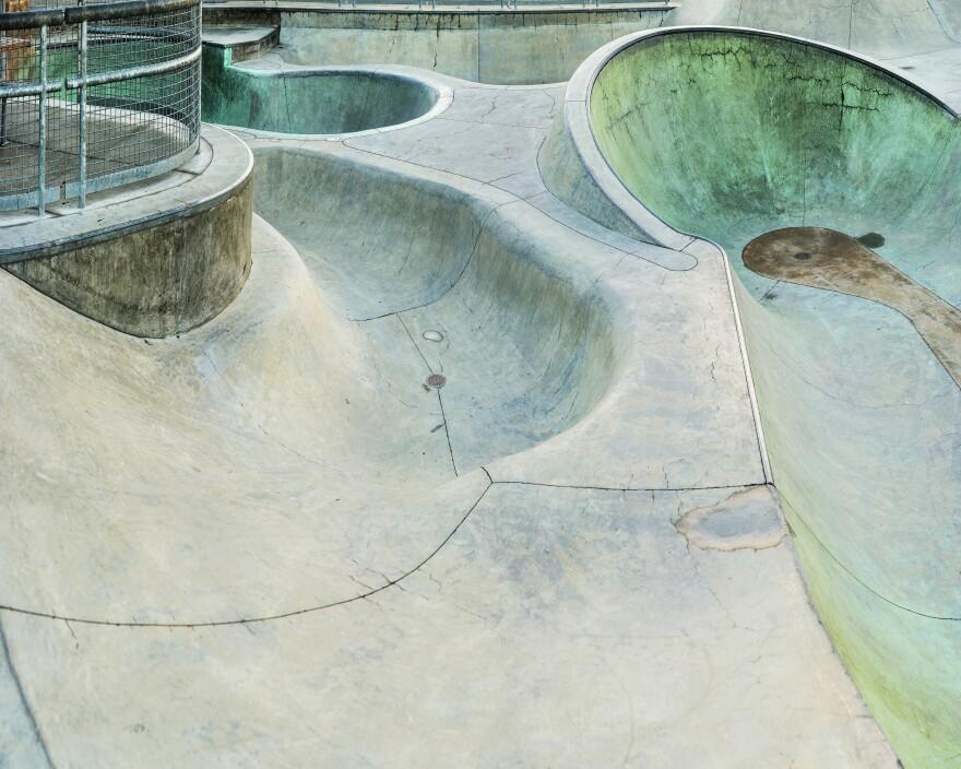 SLO Skate Park, San Luis Obispo, central California