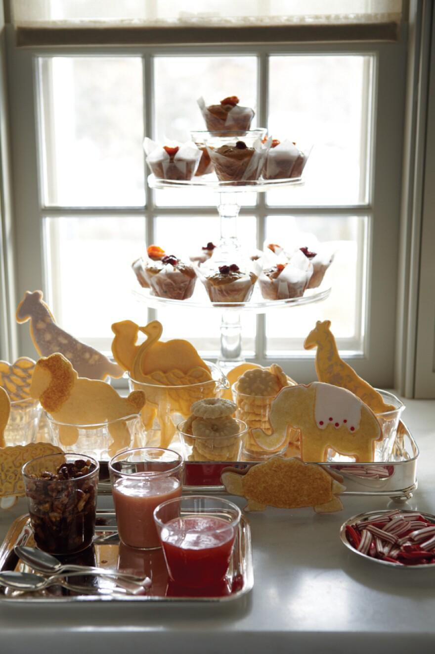 Noah's Ark Christmas cookies