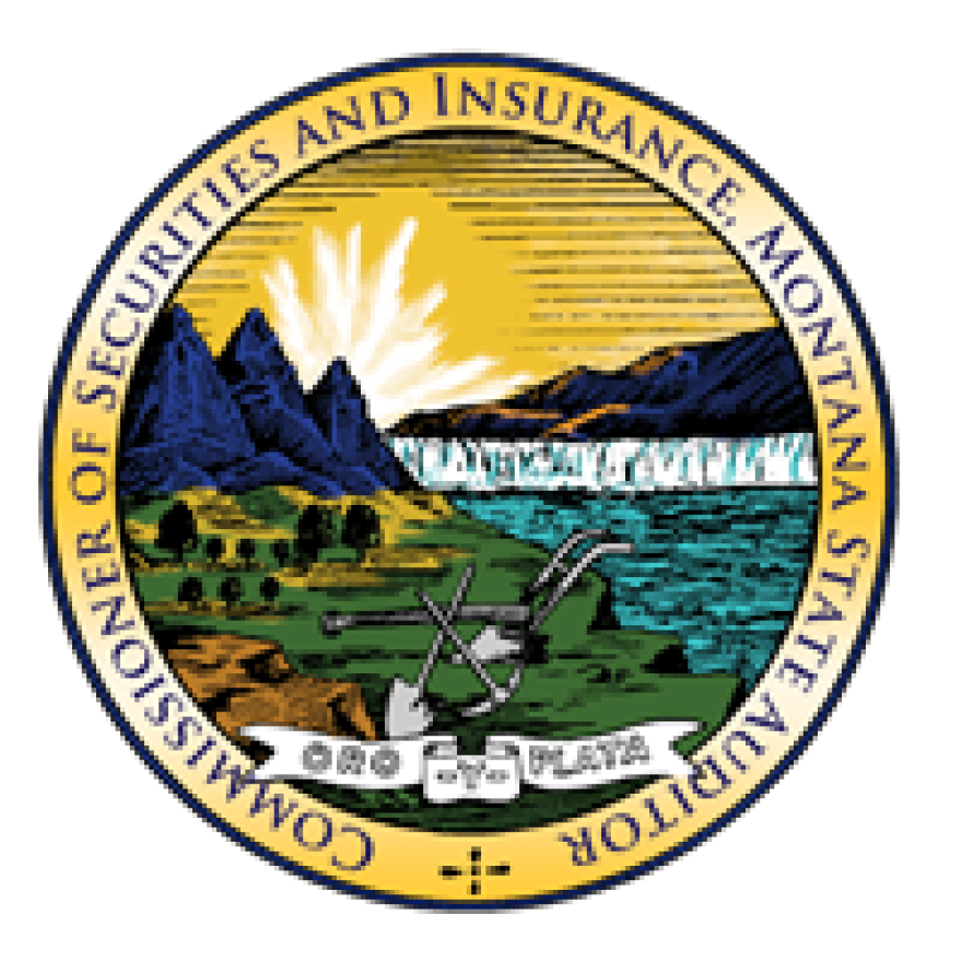 The seal for Montana Commissioner of Securities and Insurance