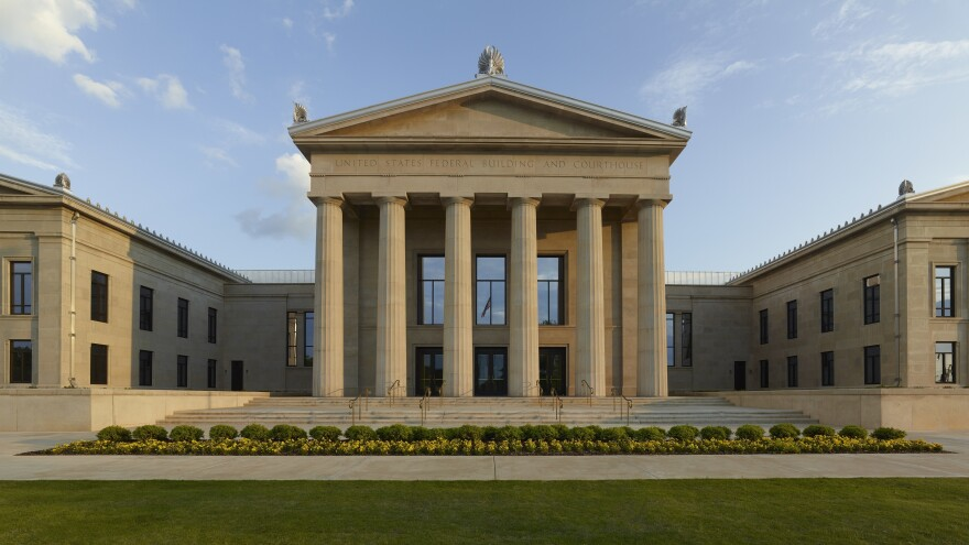 The Federal Building and Courthouse in Tuscaloosa, Ala.