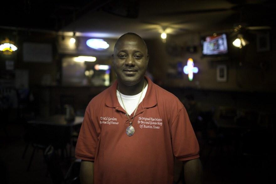 Big Easy Bar and Grill owner Darold Gordon