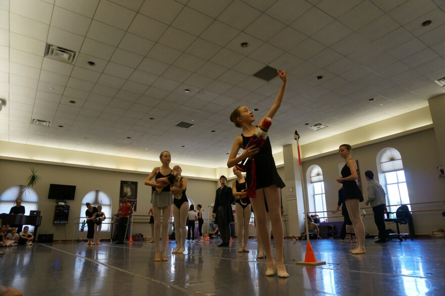 There are over 100 dancers and they all put in a lot of work. Dayton Ballet's Nutcracker