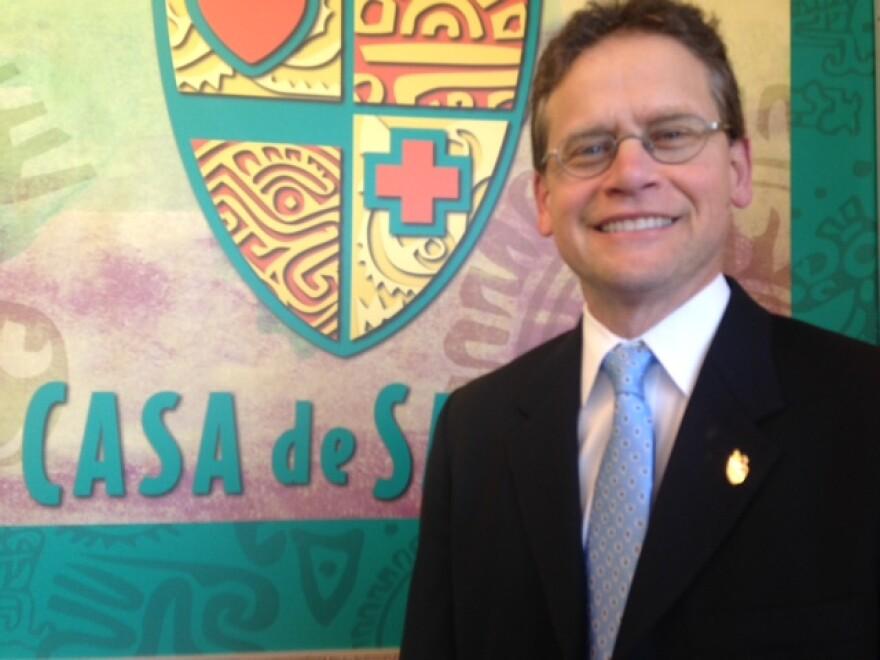Jorge Riopedre, Executive Director of Casa de Salud.