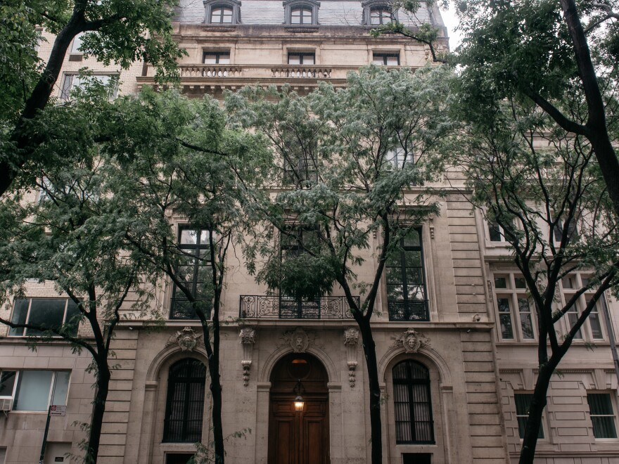 A lawsuit filed Wednesday in New York County Supreme Court alleged an associate of Jeffrey Epstein brought Jennifer Araoz to Epstein's mansion in Manhattan, where Araoz was sexually abused.