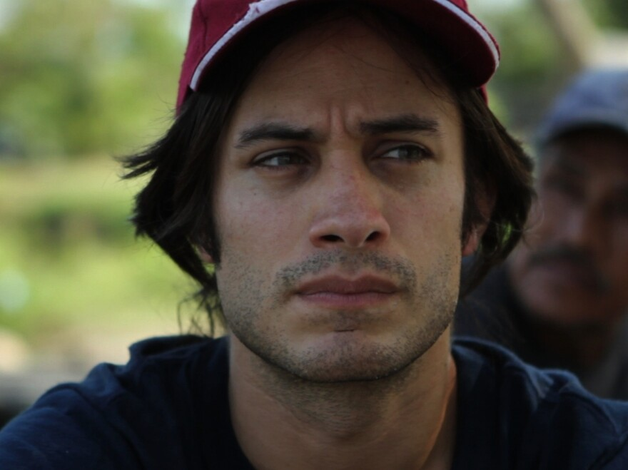 Gael Garcia Bernal narrates and travels in the documentary <em>Who Is Dayani Cristal</em>?