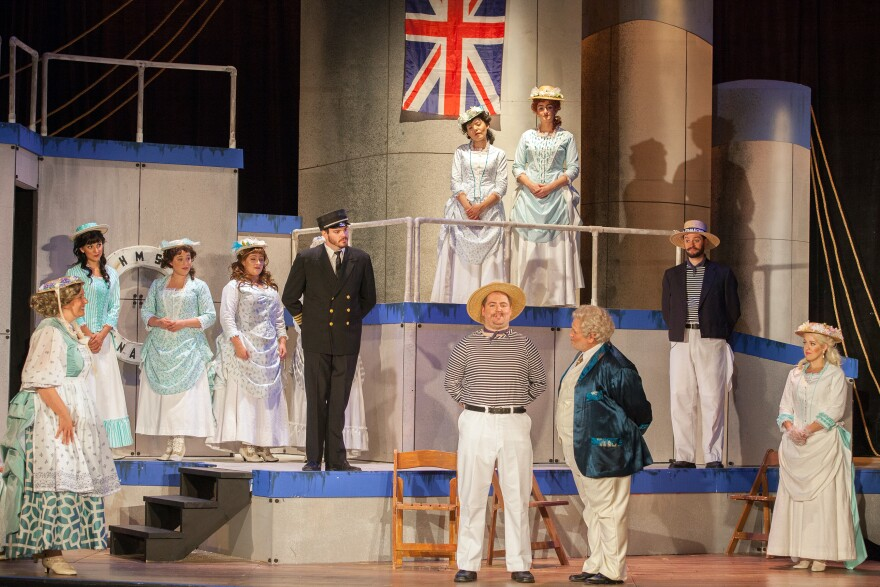 "Gilbert and Sullivan's ""H.M.S Pinafore"" opens Union Avenue Opera's season."