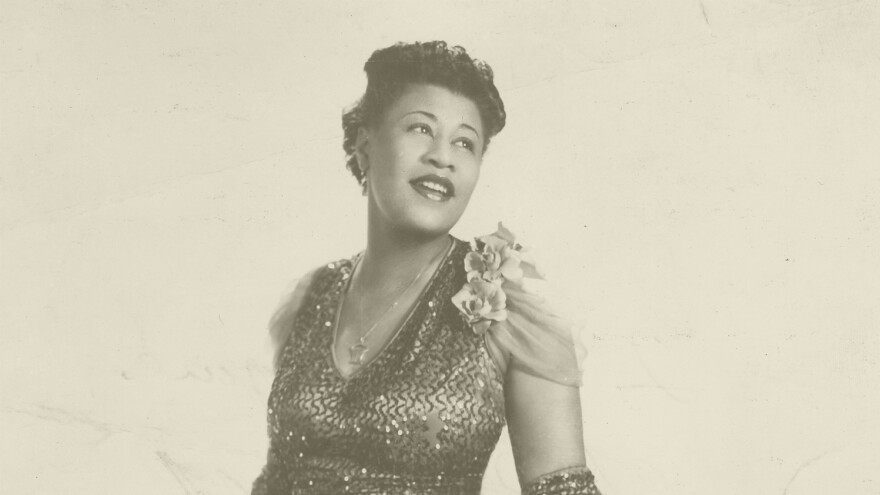 Ella Fitzgerald, photographed in 1940.