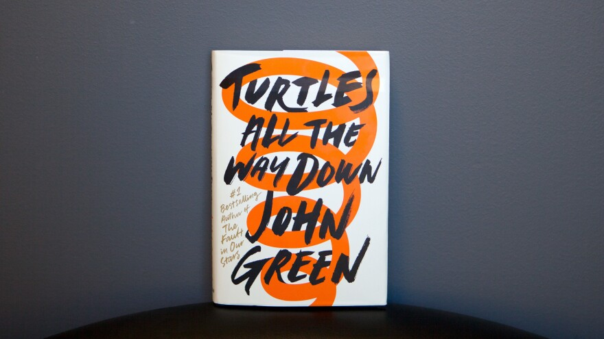 "The teen protagonist in John Green's latest novel, <em>Turtles All The Way Down,</em> has a type of anxiety disorder that sends her into fearful ""thought spirals"" of bacterial infection and death."