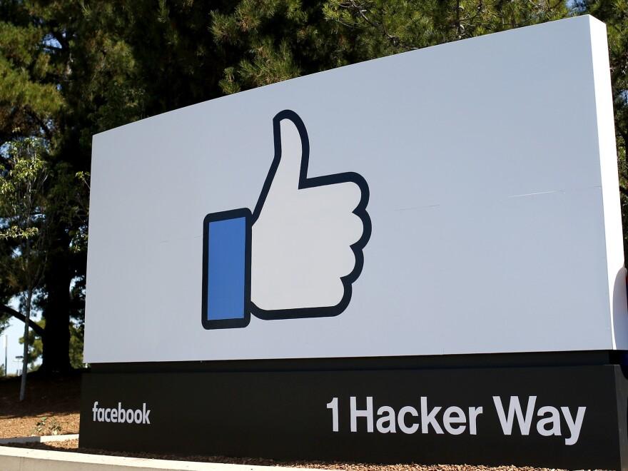 Facebook headquarters in Menlo Park, Calif., as seen in 2015.