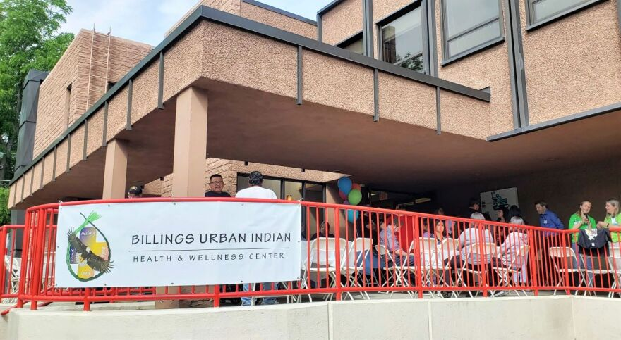 exterior of the Urban Indian Health and Wellness Center