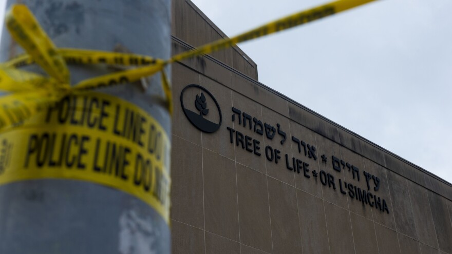 Robert Bowers, who has been charged with murdering 11 people at Pittsburgh's Tree of Life Synagogue, pleaded not guilty in federal court on Thursday.