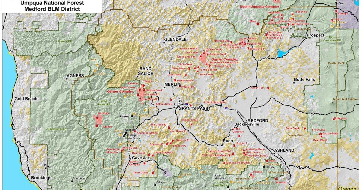 southern oregon fire map 2018 Worth A Thousand Words Or More Southern Oregon Fire Map