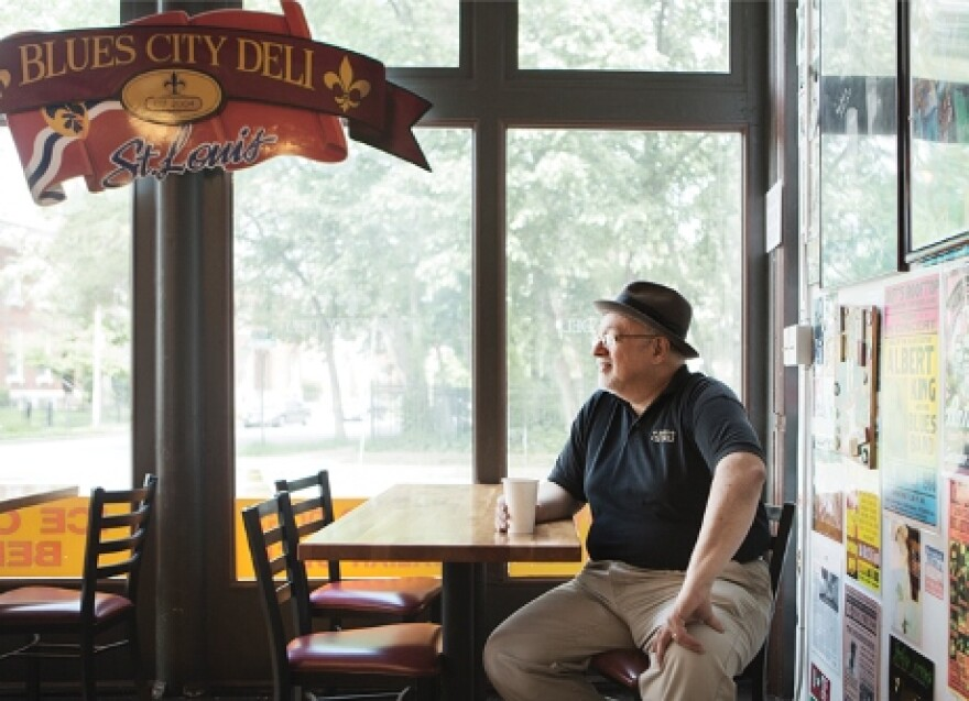 Vince Valenza, owner of Blues City Deli