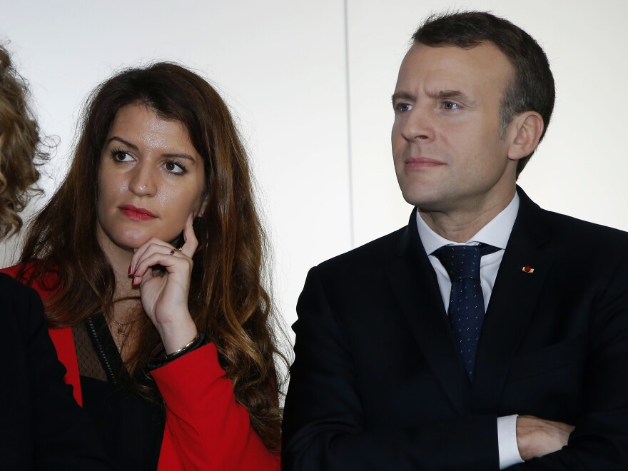 Marlène Schiappa, named gender equality minister by French President Emmanuel Macron, said in April that nearly 450 fines had been handed down to punish harassment on the street.
