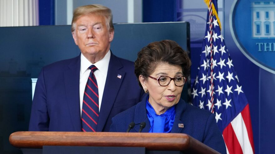 Jovita Carranza, head of the Small Business Administration, has urged Congress to appropriate more money for the Paycheck Protection Program as soon as possible.