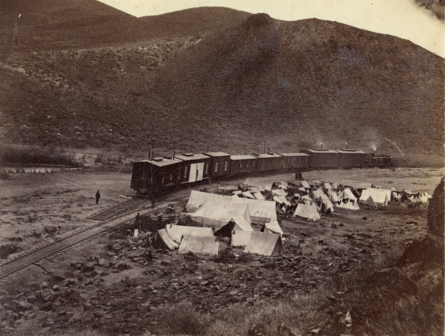 Photo of Chinese labor camp