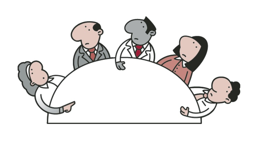 Now that the layoffs are official, it's time to talk about health insurance.