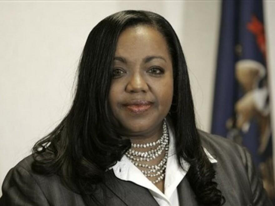Wayne County prosecutor Kym Worthy (AP Photo/Carlos Osorio)