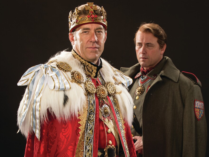 David Ivers and Larry Bull are king and king-to-be in the Utah Shakespeare Festival's <em>Richard II. </em>The production is part of an ambitious gambit: all 10 of the Bard's English histories, staged in chronological order.