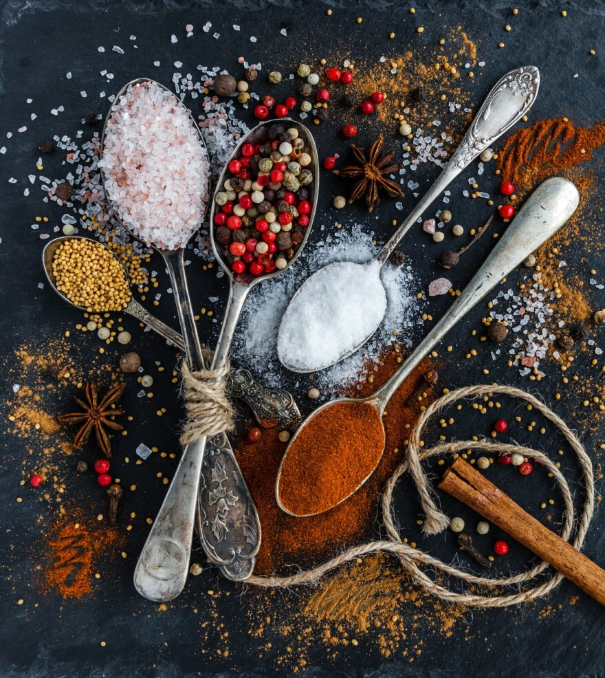 Spices, Food