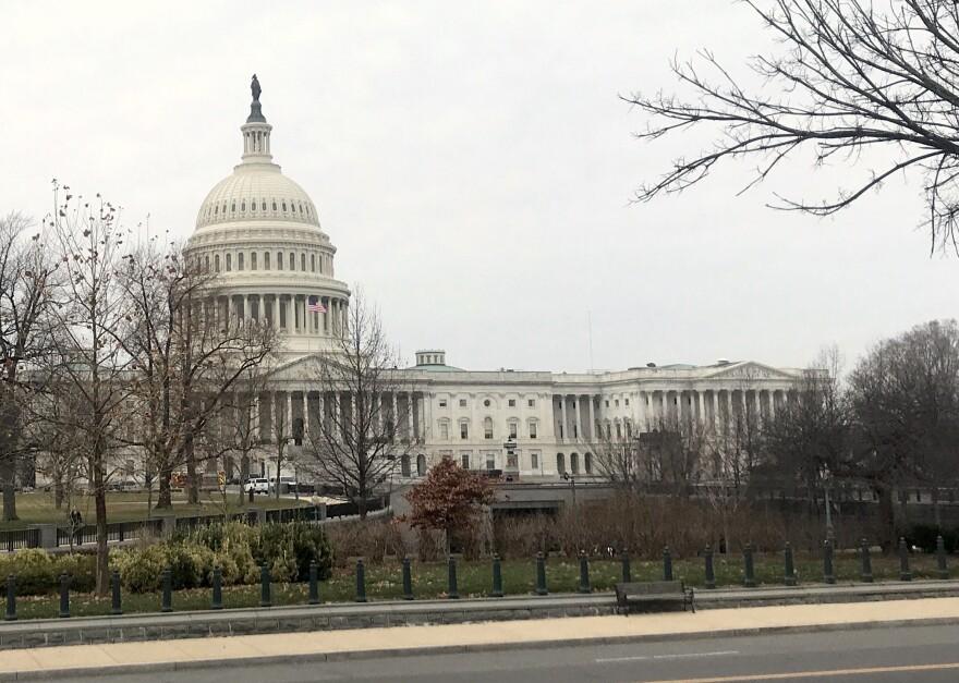 Photo of U.S. Capitol.