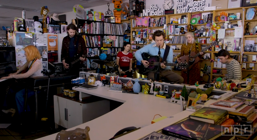 There are plenty of things to do while you're stuck at home this weekend, includinglooking through NPR's long list of Tiny Desk Concerts. The concerts range from big names like Harry Styles and Lizzo to indie acts like San Antonio's own Nina Diaz.