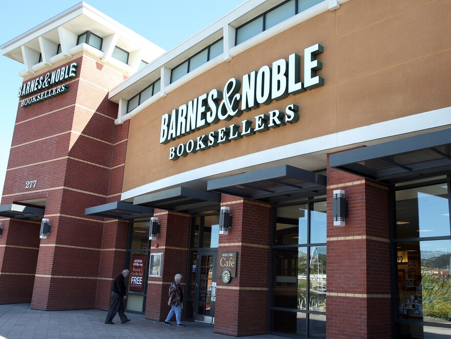 A Barnes  & Noble store in San Bruno, Calif. It's on the list.
