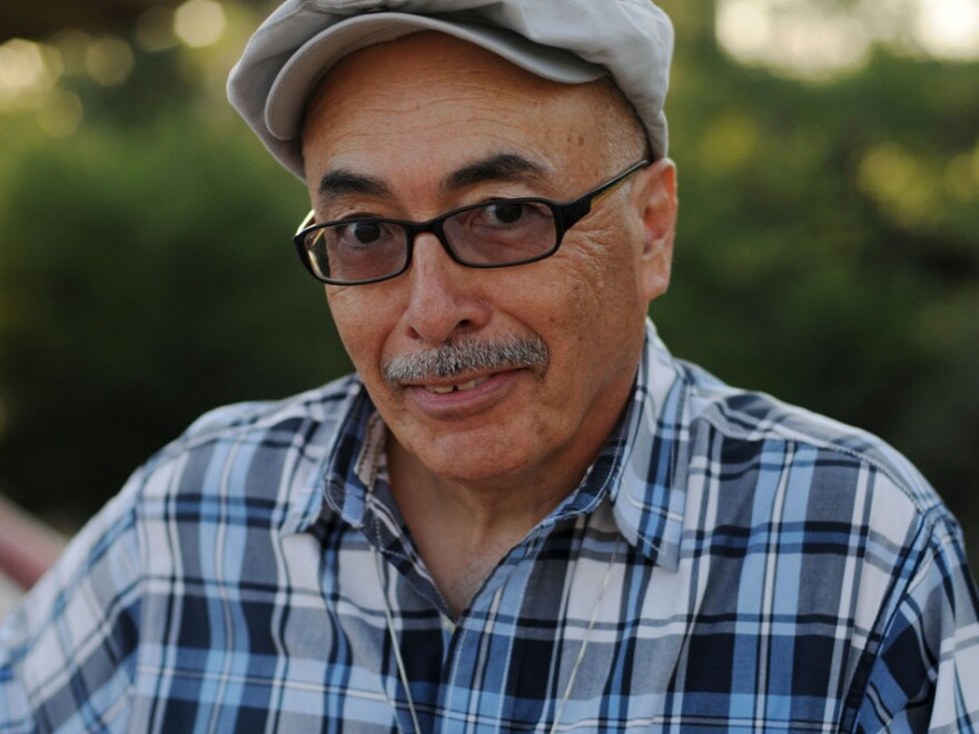 Juan Felipe Herrera won the National Book Critics Circle Award in 2008 for his collection <em>Half of the World in Light.</em>