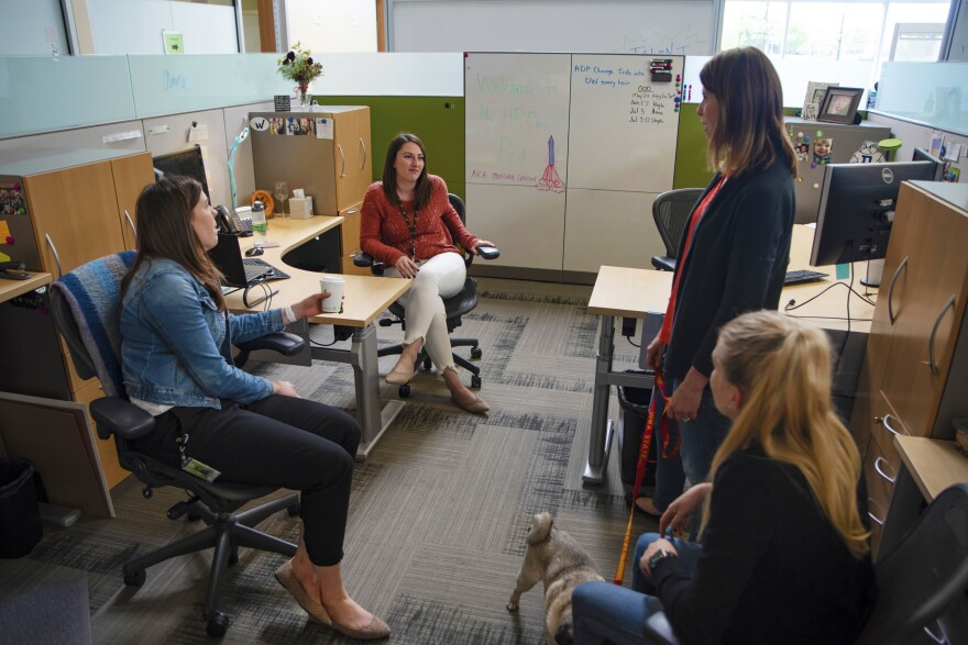 "Forrester checks in with members of the ""HR Ops pod"" at Workiva. The company tries to sell prospective hires on the area's quality of life along with generous benefits."