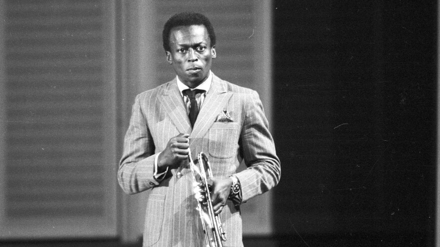 Miles Davis, onstage in West Germany in 1959.
