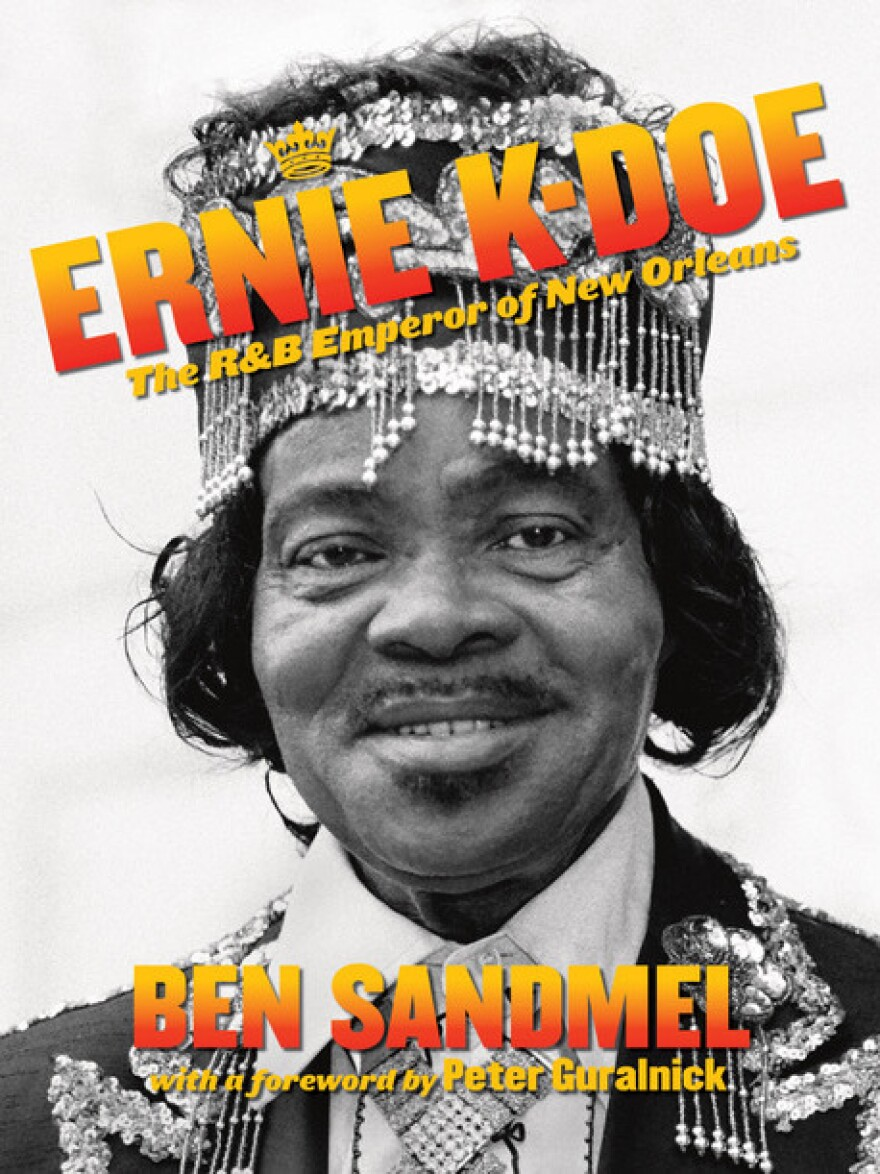 Cover to Ben Sandmel's biography on K-Doe.