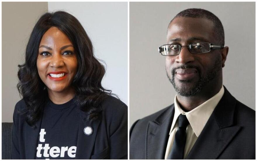 Incumbent Treasurer Tishaura Jones, left, faces Alderman Jeffrey Boyd, D-22nd Ward, in the Aug. 4 Democratic primary.