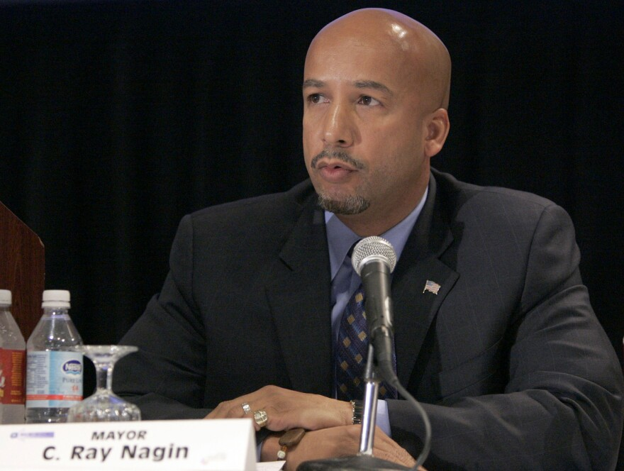 """Mayor Ray Nagin has been indicted on 21 corruption charges by a federal grand jury. They include """"conspiracy to deprive citizens of honest services."""""""