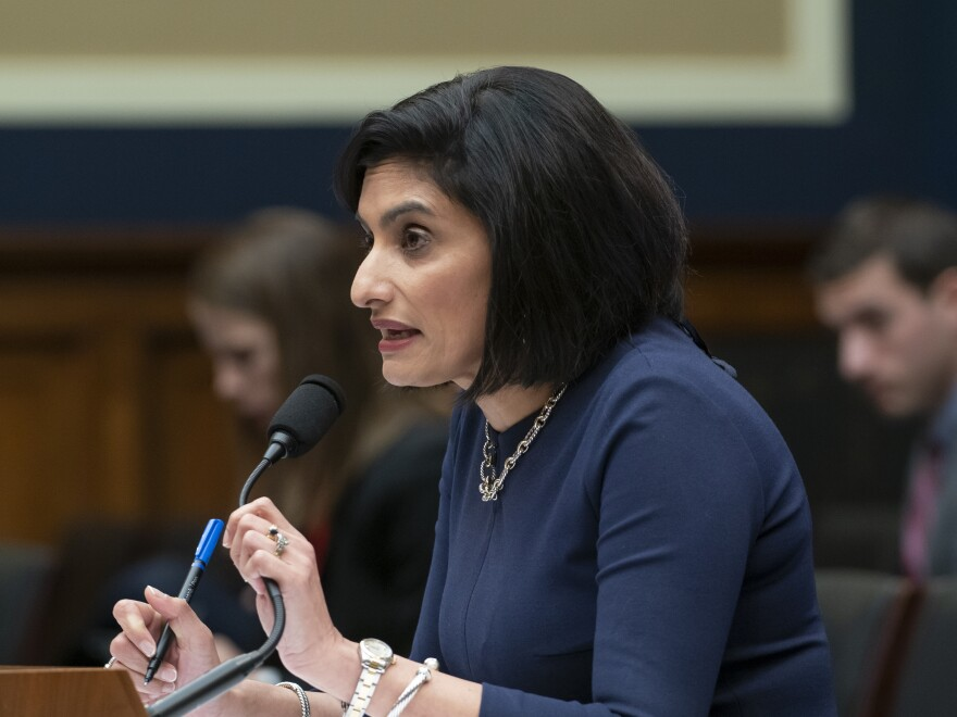 Centers for Medicare and Medicaid Services Administrator Seema Verma testifies on Capitol Hill in October.
