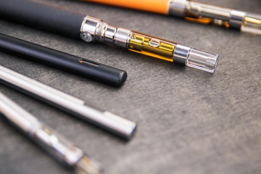 Photo of vape pens.
