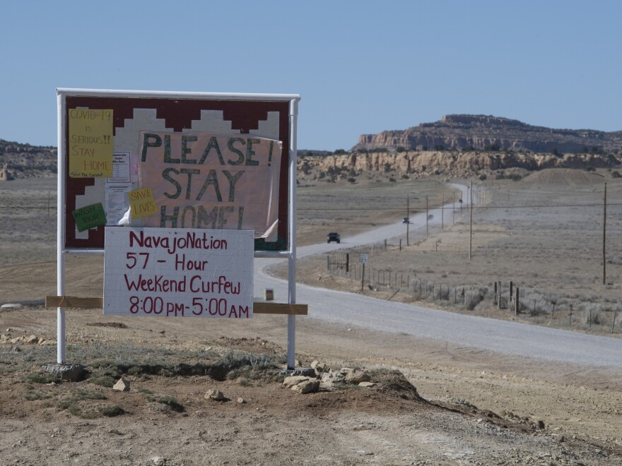 The Navajo Nation implemented a three-week extension on current coronavirus lockdown measures to curtail a severe second surge of the outbreak