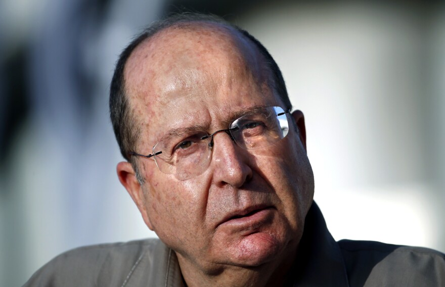 Israeli Defense Minister Moshe Ya'alon delivers a statement at the Israel Defense Forces headquarters in Jerusalem in June.