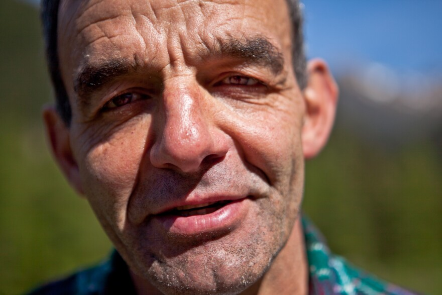 Francesco Lenzi is a dairy farmer in Trentino, Italy, who says Adopt A Cow has been a financial godsend for his milk and cheese operation.