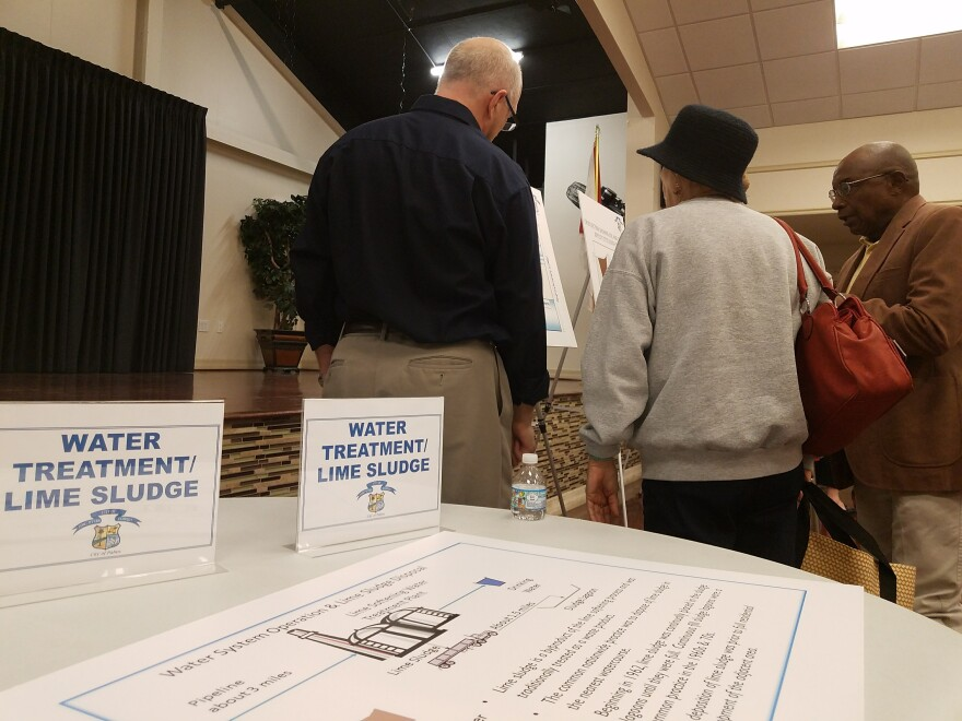 The city held a workshop for Dunbar residents